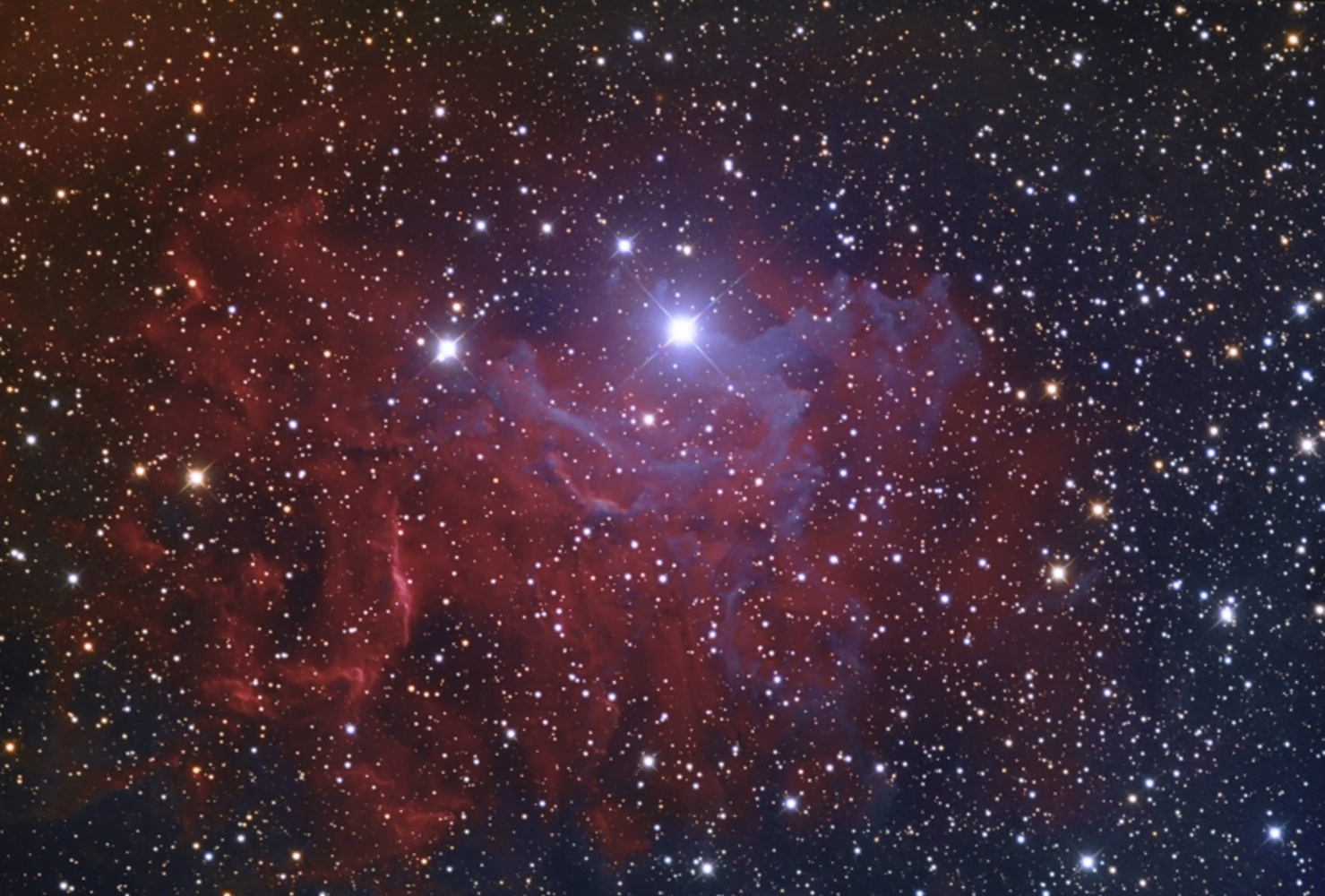 IC 405 from BMV Observatories
