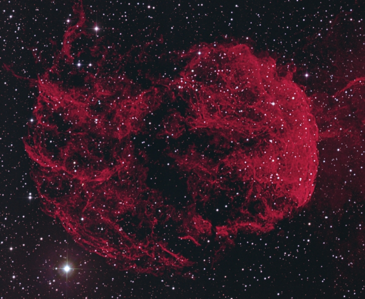 The Jellyfish Nebula IC443  from BMV Observatories
