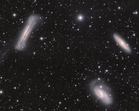 Leo Trio from BMV Observatories