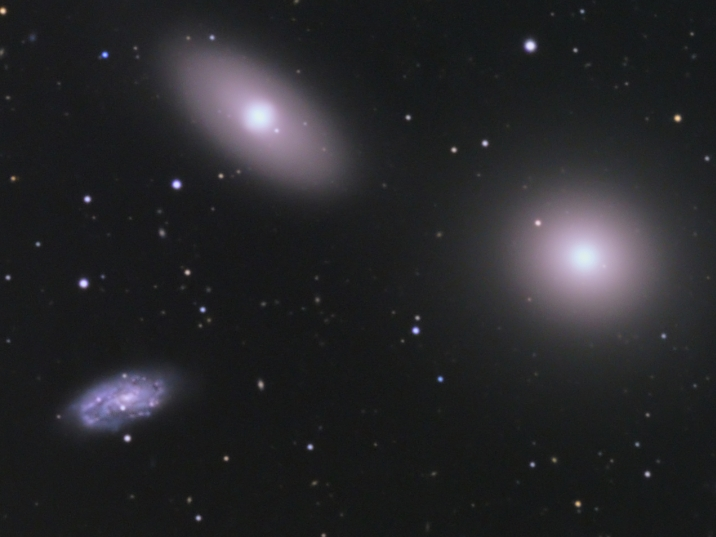 M105-Trio from BMV Observatories