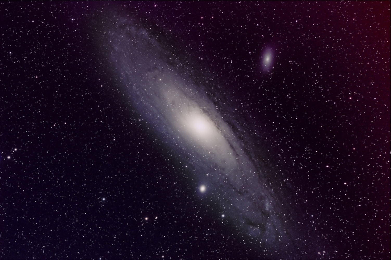 M31 from BMV Observatories