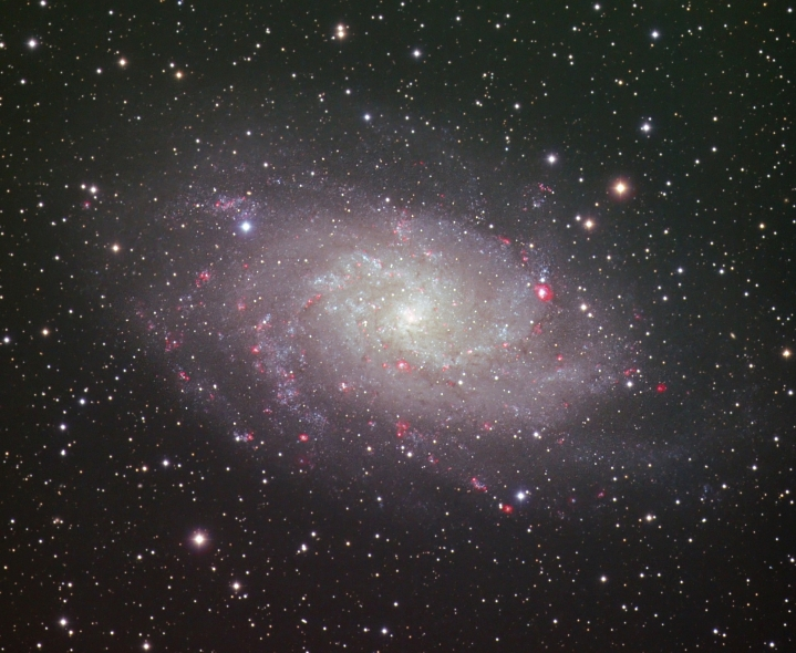 M33 from BMV Observatories