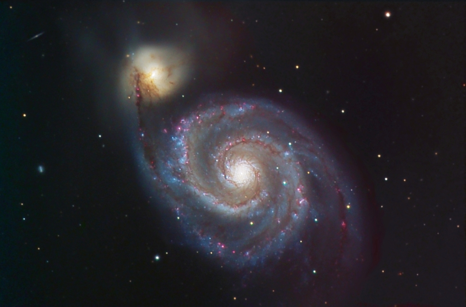 M51 from BMV Observatories