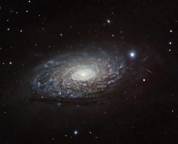 M63 from BMV Observatories