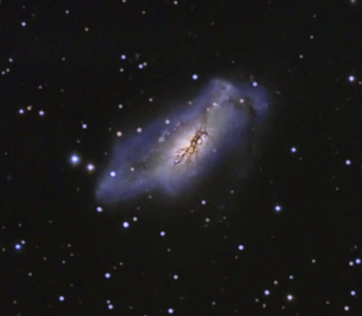 NGC 2146 from BMV Observatories