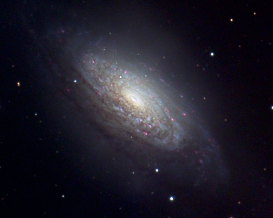 NGC 3521 from BMV Observatories