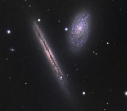 NGC 4302 from BMV Observatories