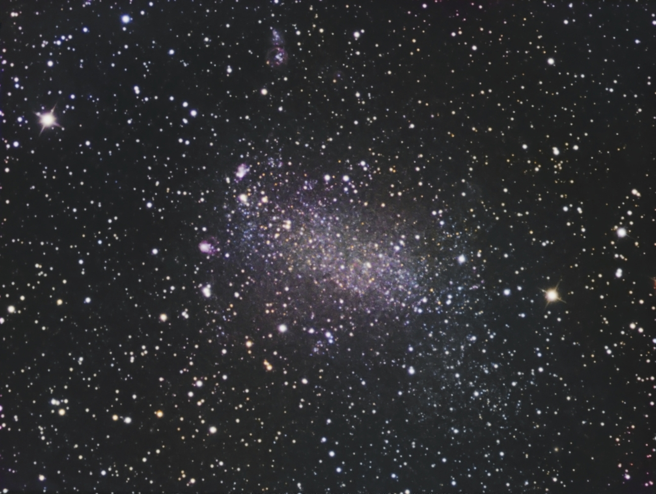 NGC 6822 from BMV Observatories