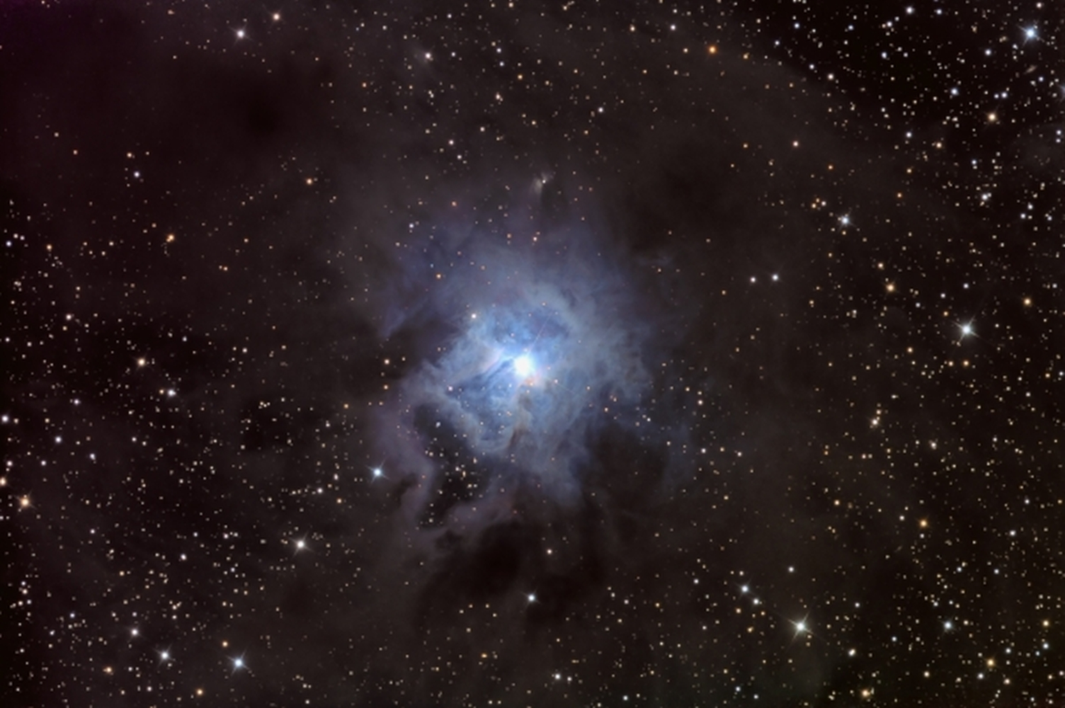 NGC 7023 from BMV Observatories