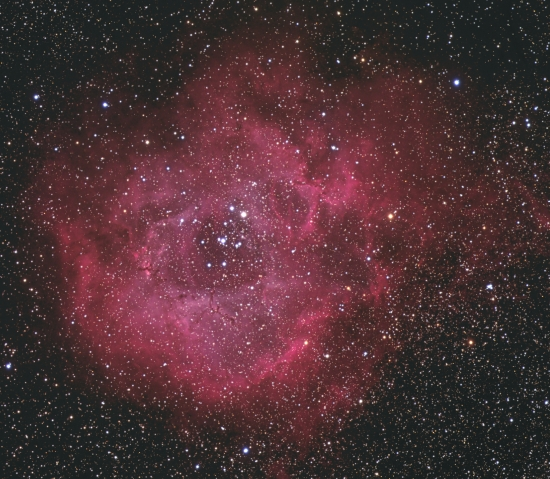 The Rosette Nebula  from BMV Observatories